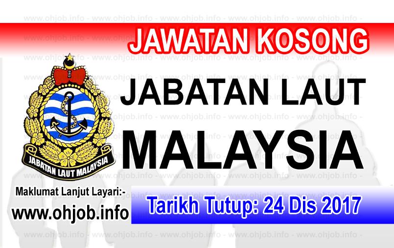Jawatan Kerja Kosong Jabatan Laut Malaysia logo www.ohjob.info disember 2017