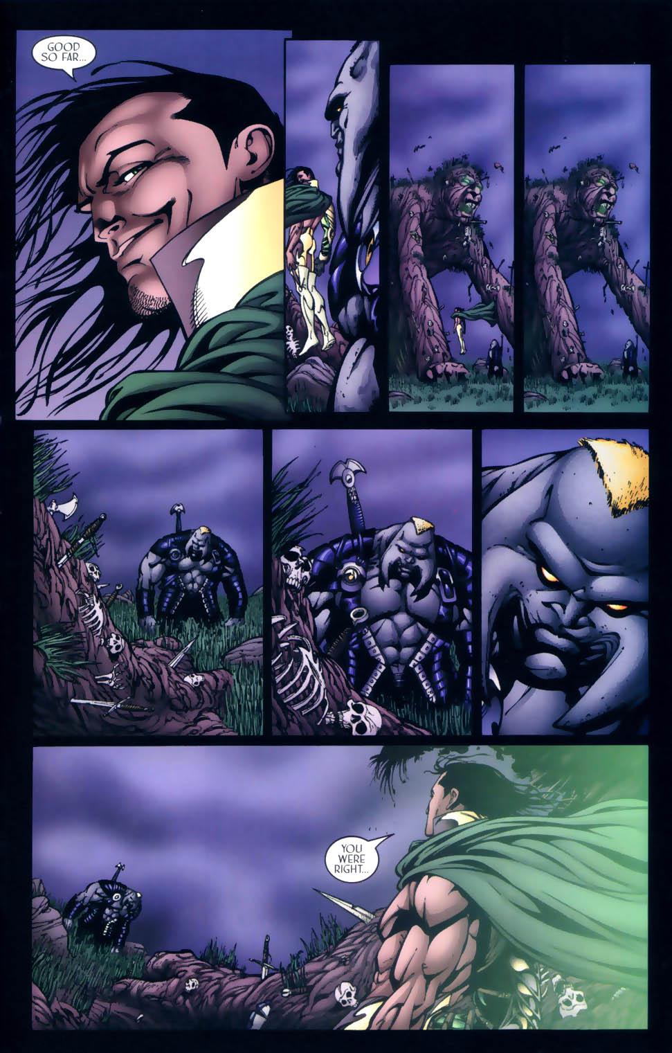 Read online Sigil (2000) comic -  Issue #4 - 30
