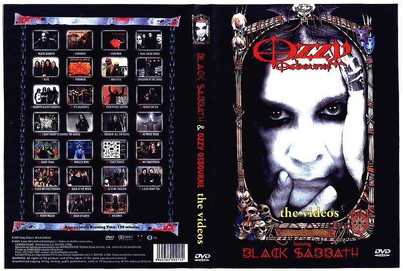 Black Sabbath & Ozzy Osbourne The Videos DVD-R 210887
