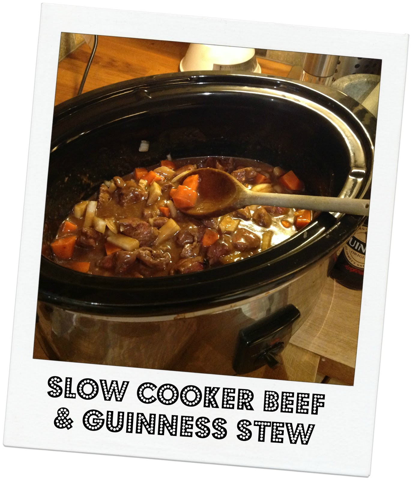 Slow Cooker Beef and Guinness Stew - mummy mishaps