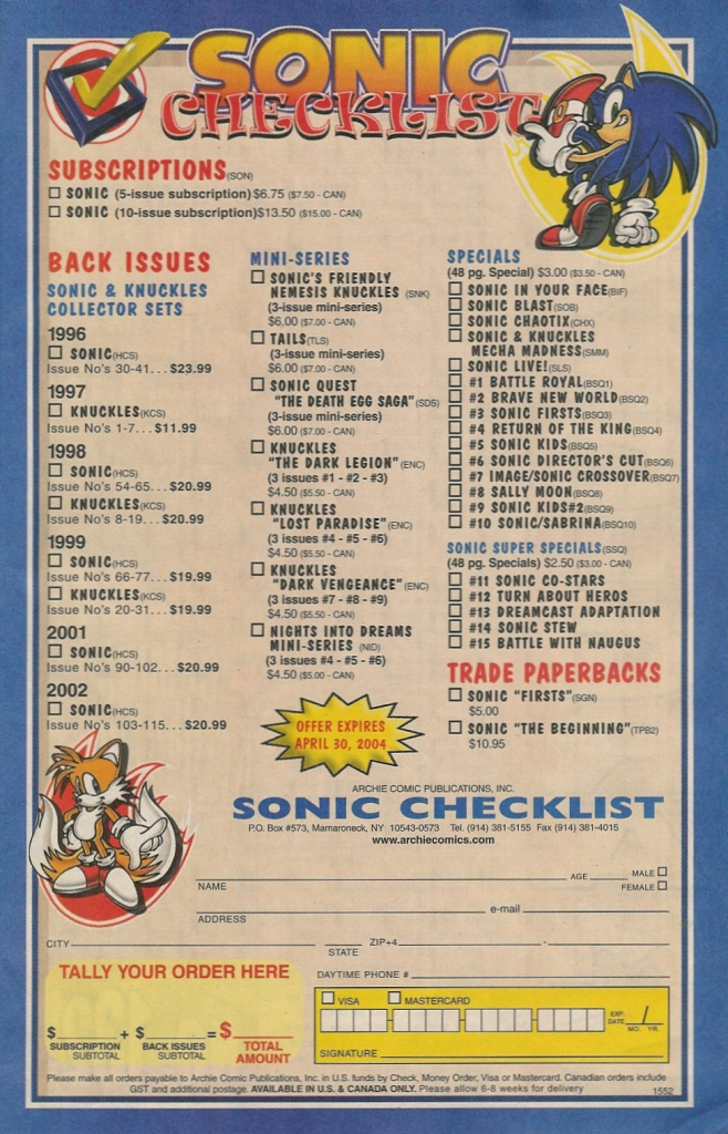 Read online Sonic The Hedgehog comic -  Issue #131 - 30