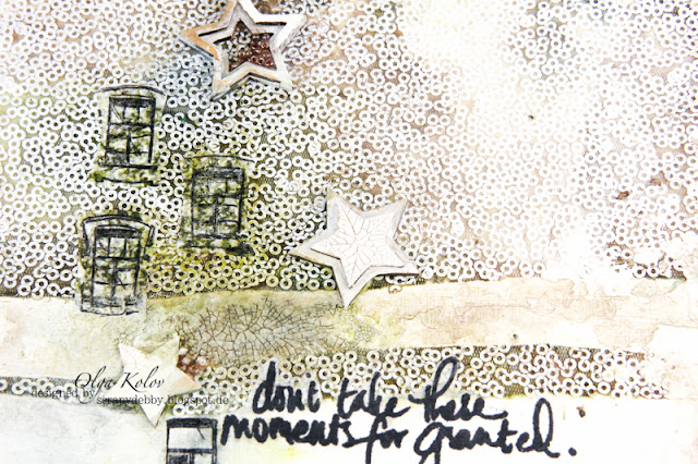 @olgakolov #canvas #mixedmedia #UWS #stars @lindys