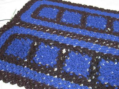 crochet, shawl, love knot, solomon's knot,