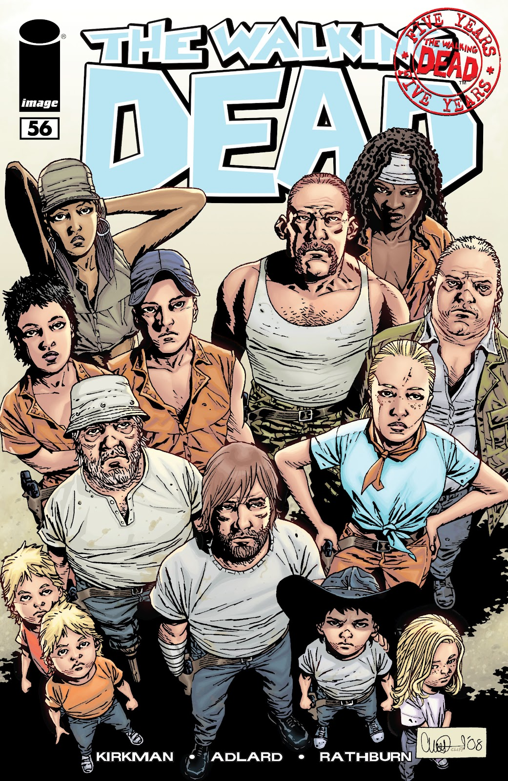 The Walking Dead issue 56 - Page 1
