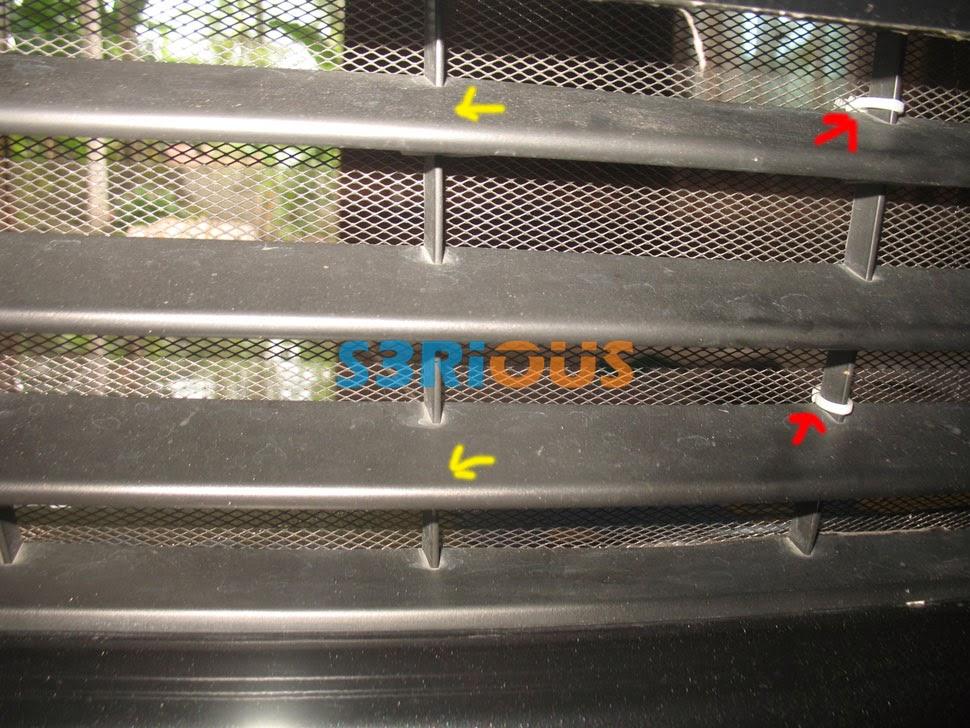 pelindung radiator grand new avanza harga spoiler 2016 diy tutorial bongkar bumper ertiga dan pasang kawat grill agar lebih kuat bagian tengah bisa diikat dengan kabel ties
