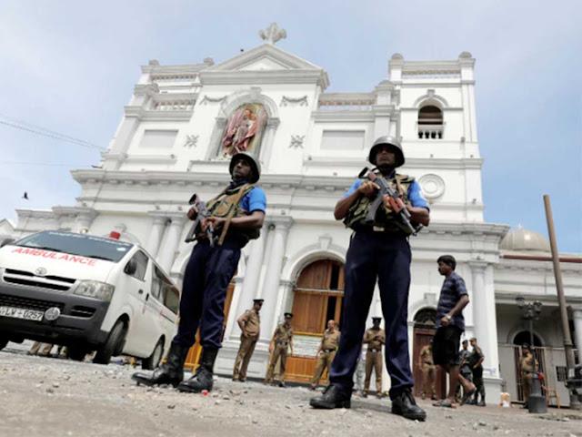 Inggris Peringatkan Serangan Teroris Susulan di Sri Lanka