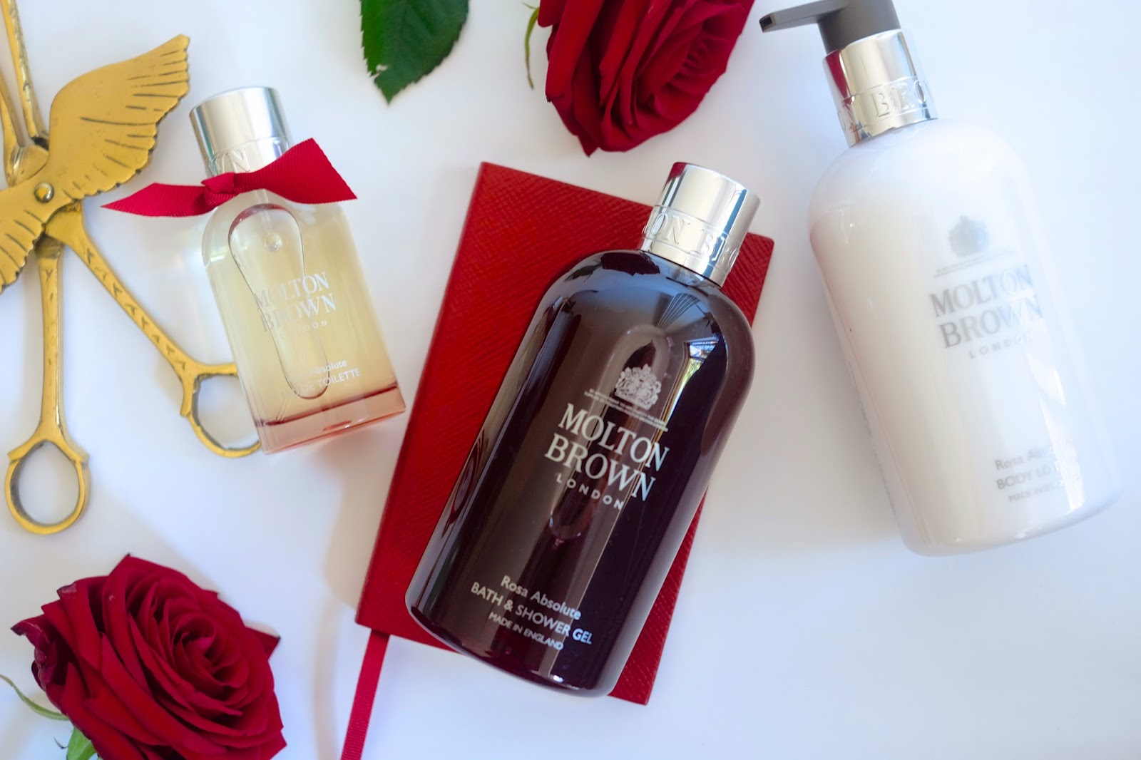 danielle vanier molton brown rosa absolute collection i find rose scented things can generally be quite old fashioned but the punchy additions of pink peppercorn oil and violet leaf absolute really make this