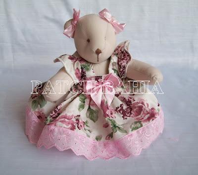 Ursinhas Bailarinas Cor de Rosa