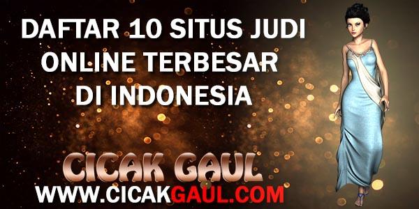 10 WEBSITE JUDI ONLINE PALING GAMPANG MENANG DI INDONESIA
