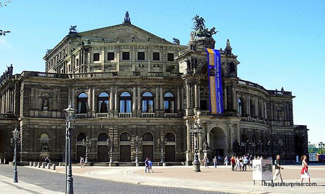 Semperoper, Ópera de Dresden, Alemanha