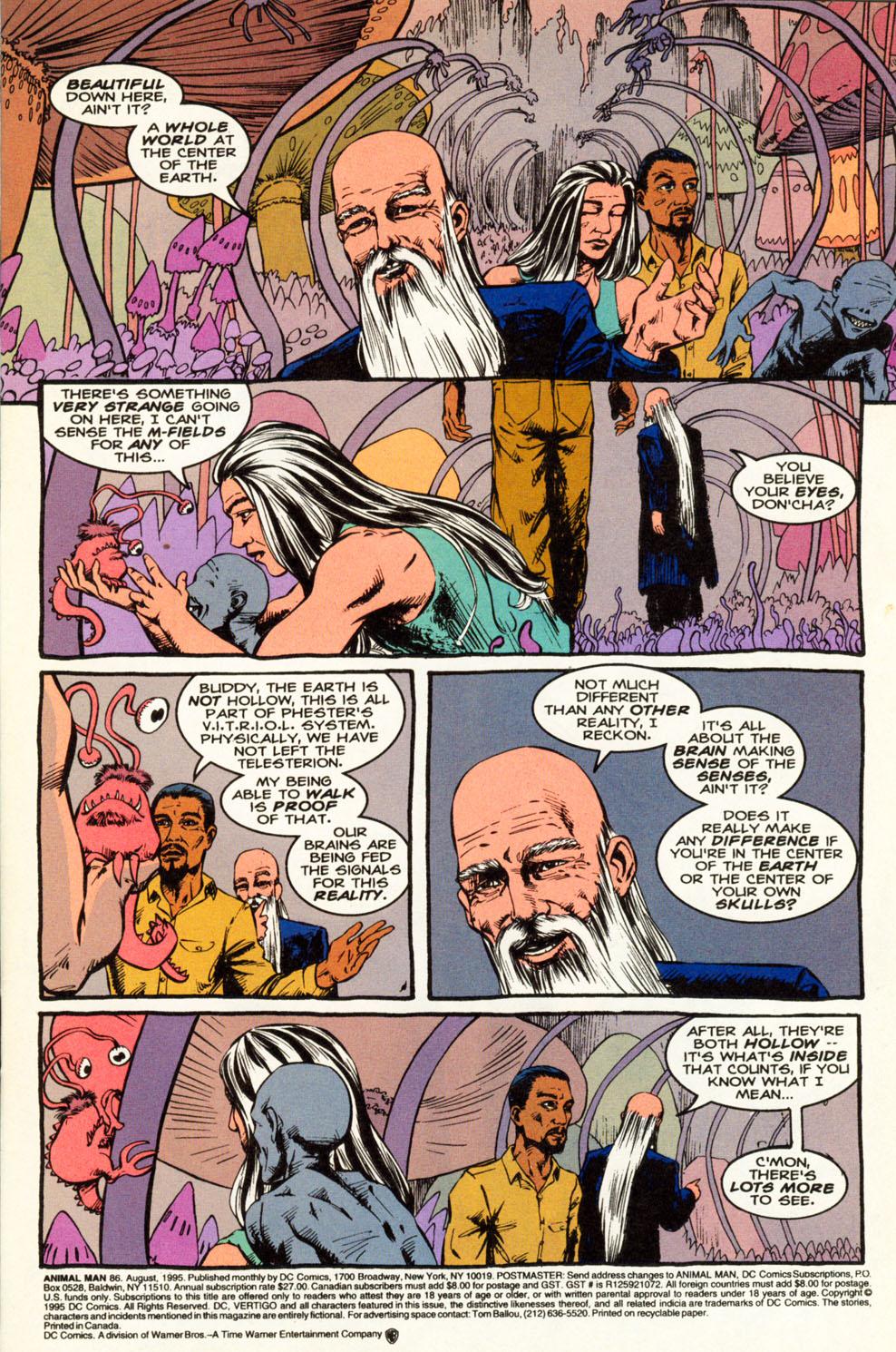Read online Animal Man (1988) comic -  Issue #86 - 2