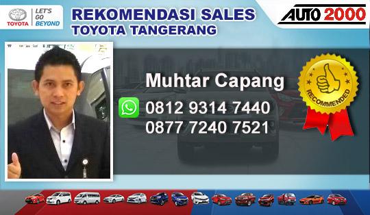 Rekomendasi Sales Toyota Cikupa Tangerang