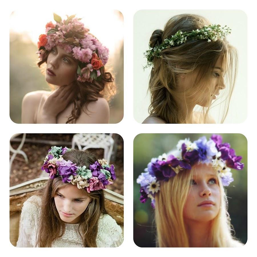 kilika hecho a mano coronas de flores