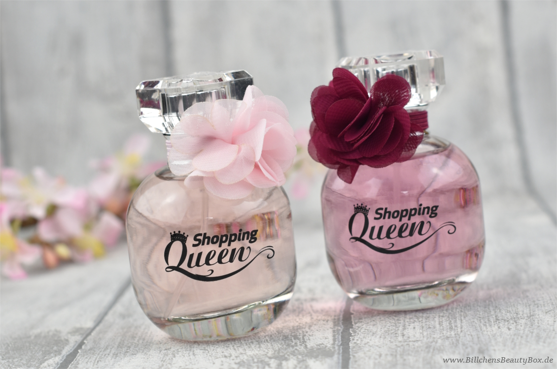 Shopping Queen Parfums - Queen of the Day & Midnight Queen - Gewinnspiel Bloggeburtstag
