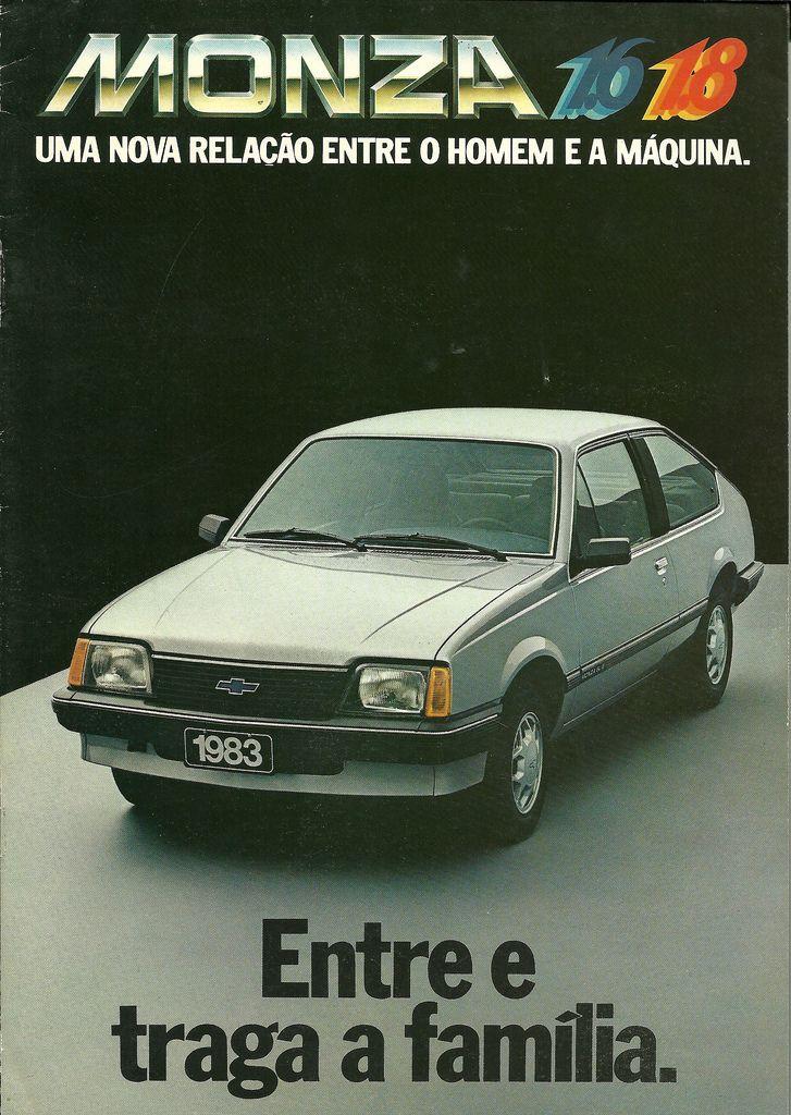 Campanha de lançamento da versão 1.6 e 1.8 do Monza produzido pela Chevrolet