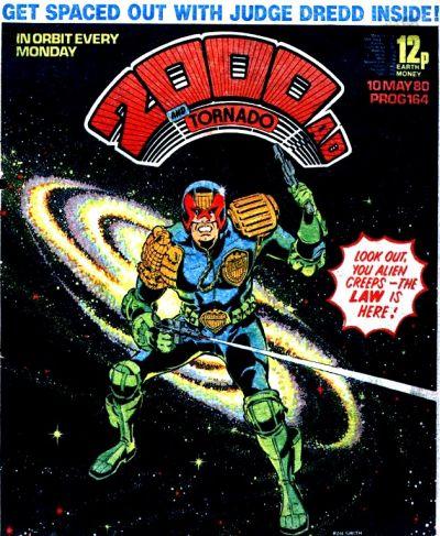 2000 AD Prog 164, Judge Dredd