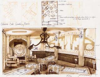 Diseño escenarios Grim Fandango