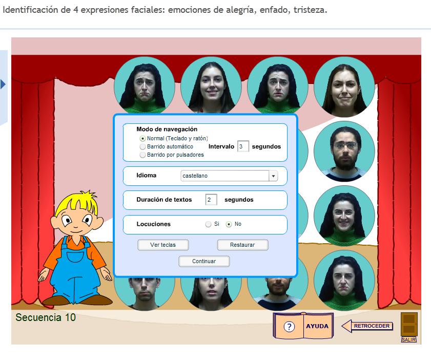 Material De Isaac Para Educacion Especial Identifica Las Expreiones Faciales