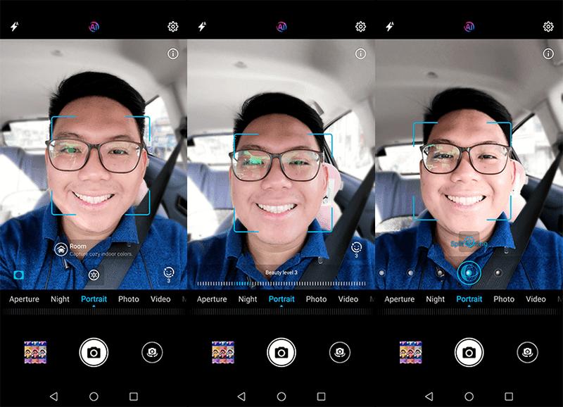Camera UI and modes