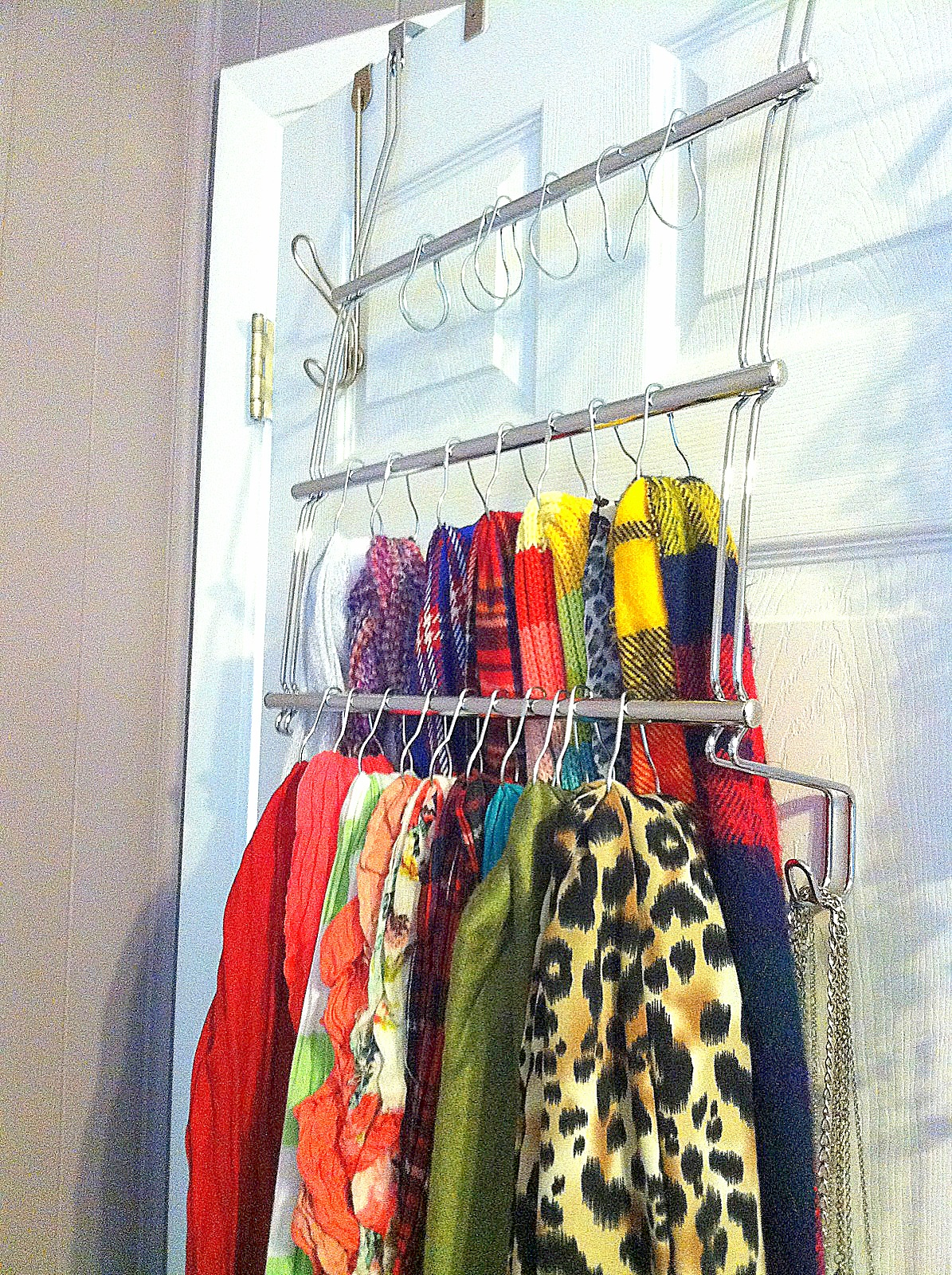 Downtime. Upcycle.: Scarf Holder
