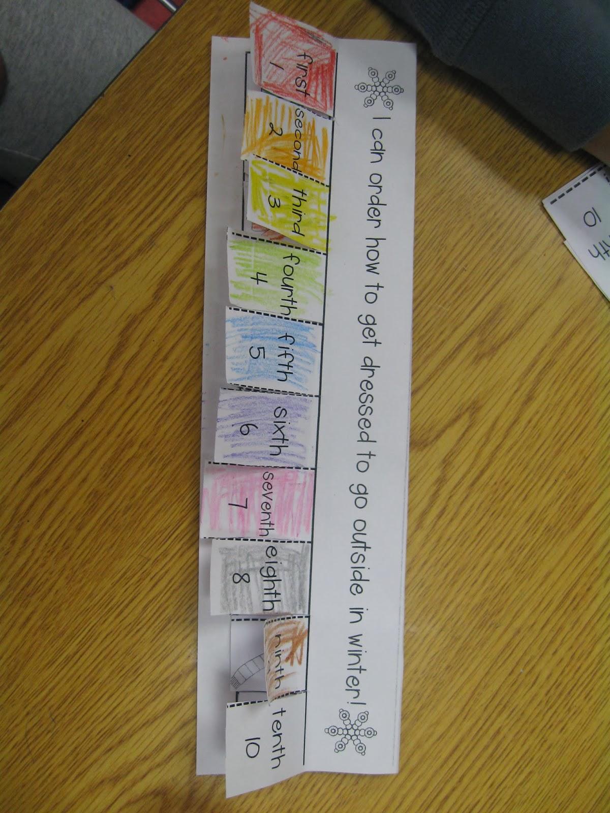 Crayons Amp Cuties In Kindergarten Working With Numbers