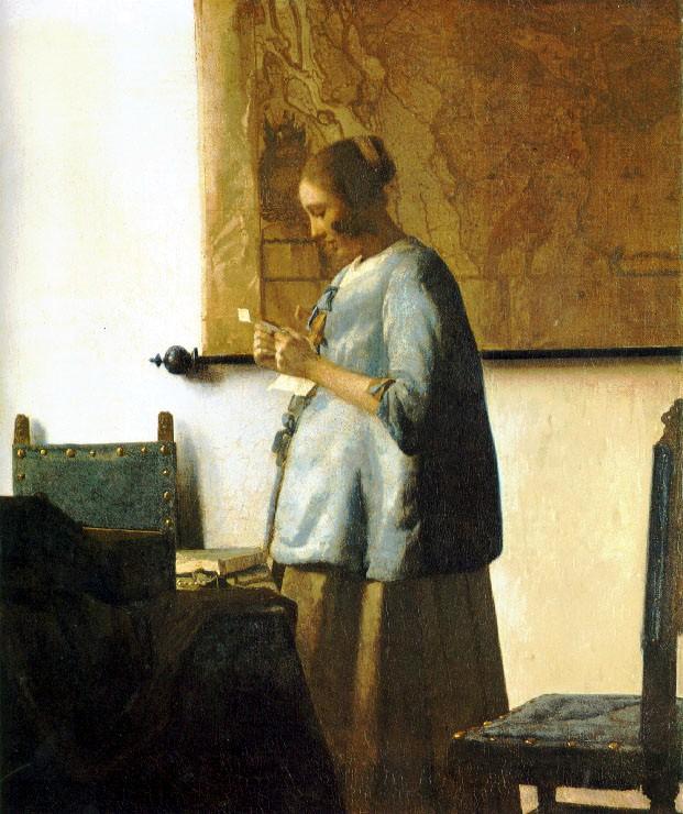 The Love Letter , 1664-70 (Rijksmuseum, Amsterdam)