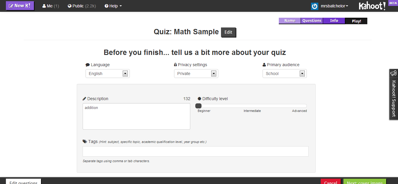 Wednesday Web Tool: Use Kahoot to Create Online Quizzes and Polls