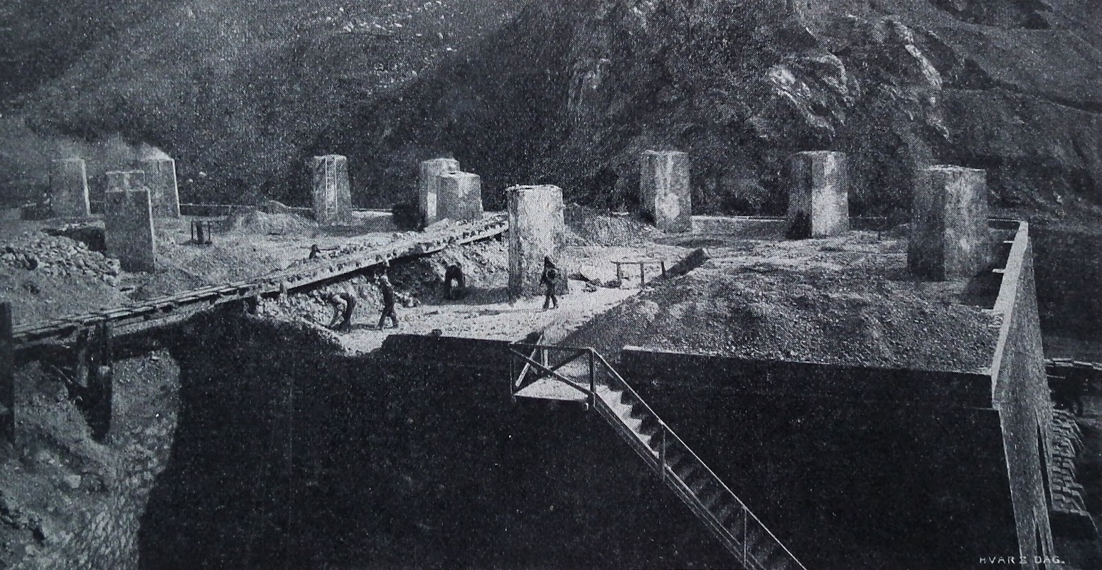 The Things I Enjoy: Sulphur mines in Sicily a hundred