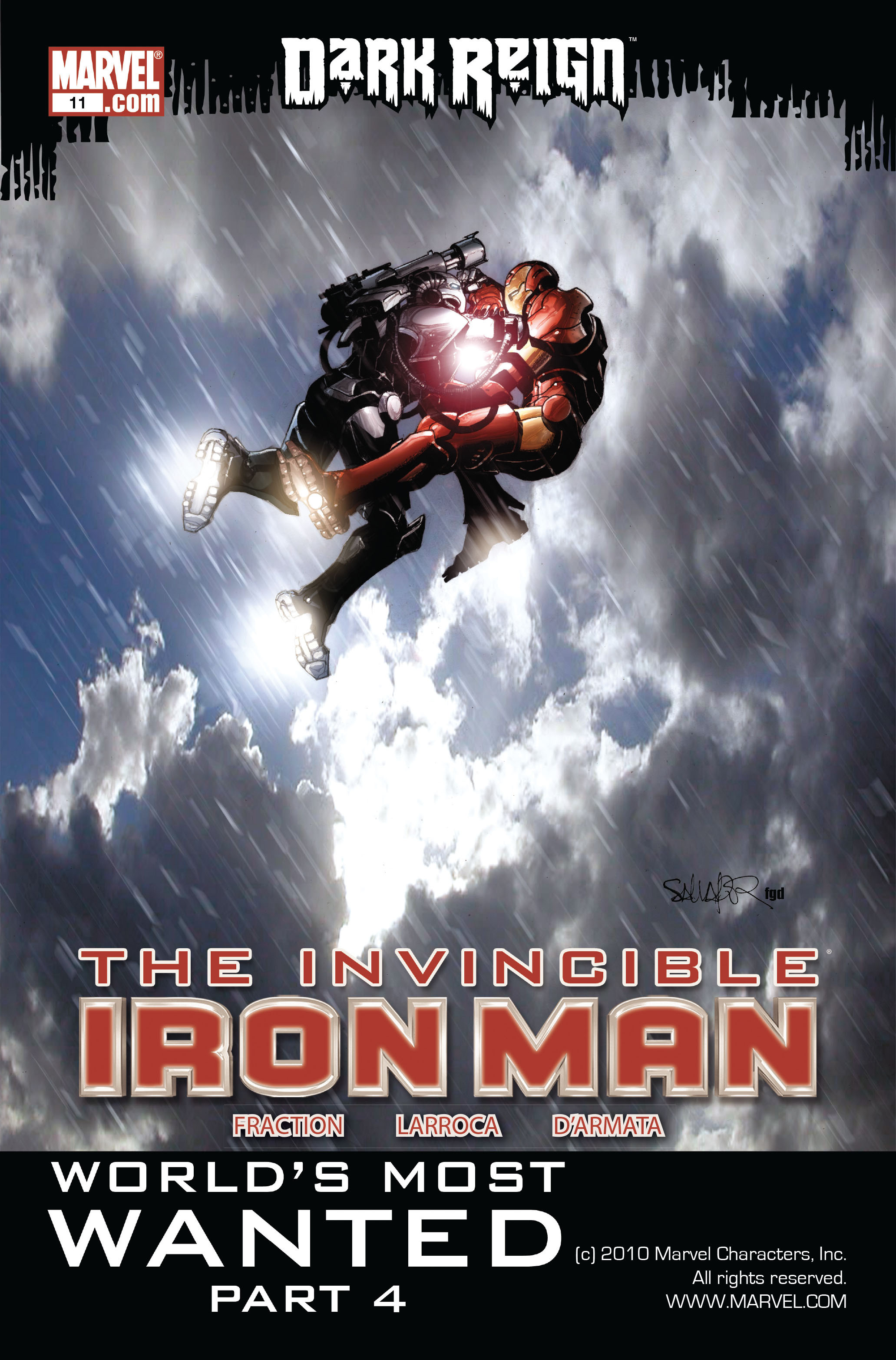 Invincible Iron Man (2008) 11 Page 1
