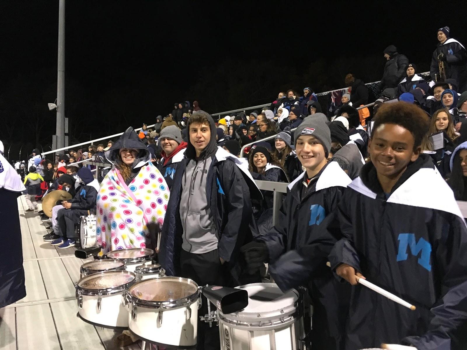Middletown High School Bands Football Game Windsor