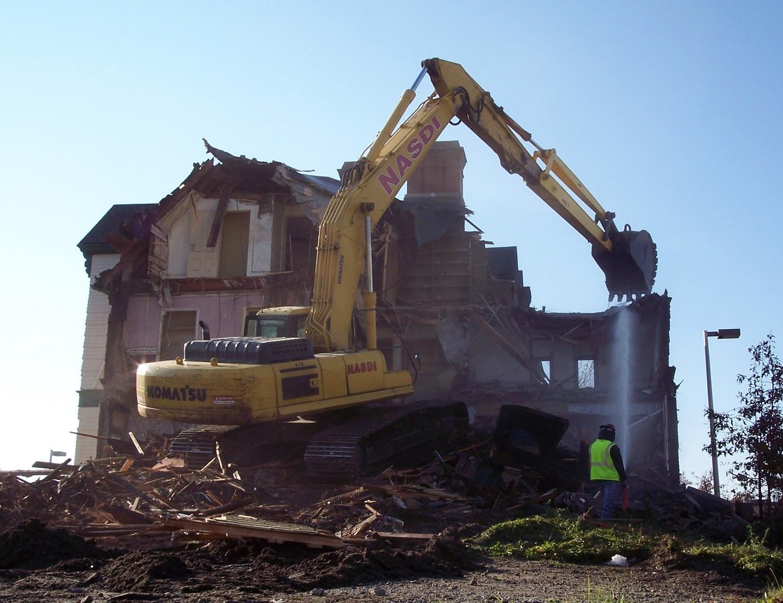 house demolition clipart - photo #15