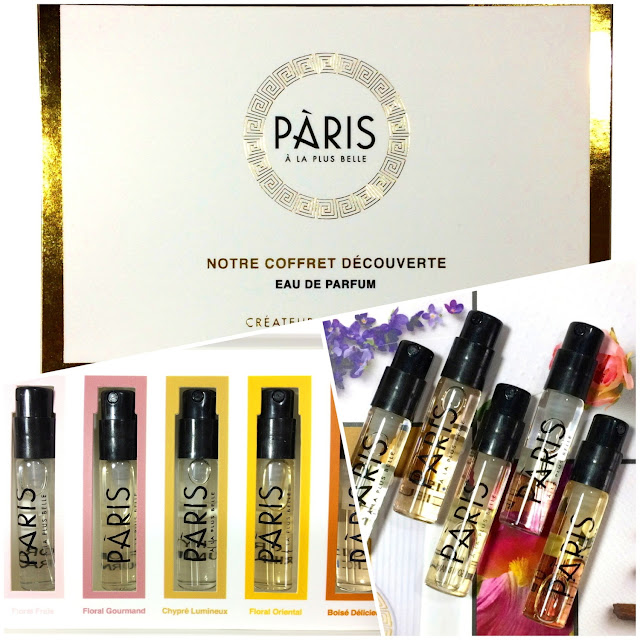 PARIS A LA PLUS BELLE Eaux de Parfum Coffret Découverte.Review Photos Codes Promo