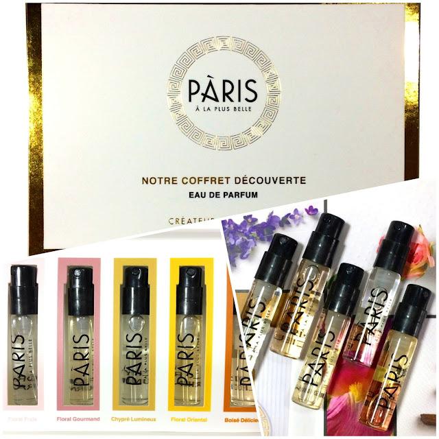 Cosmelista Paris A La Plus Belle Eaux De Parfum Coffret Découverte
