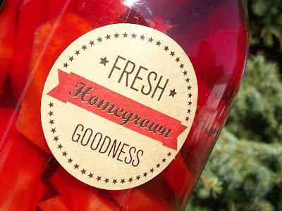 kraft canning label