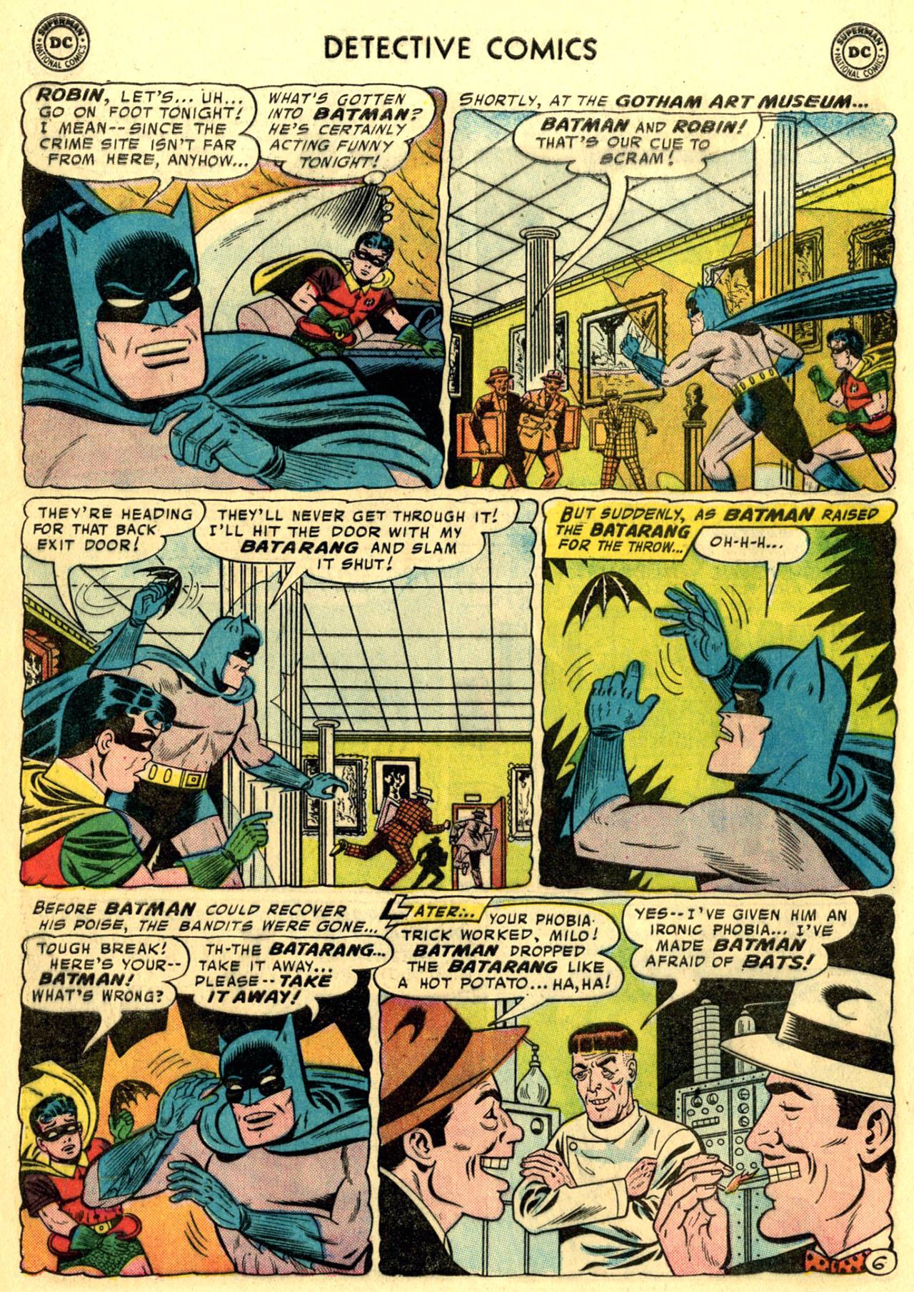 Read online Detective Comics (1937) comic -  Issue #247 - 8
