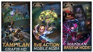 """""""Mobile Arena - Action MOBA dari GArena"""""""