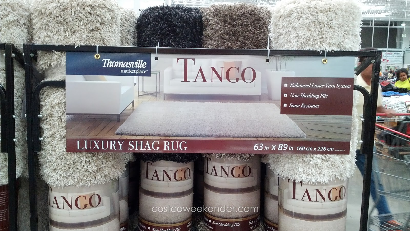 Thomasville Marketplace Tango Collection Luxury Shag Area
