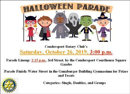 10-26 Halloween Parade, Coudersport