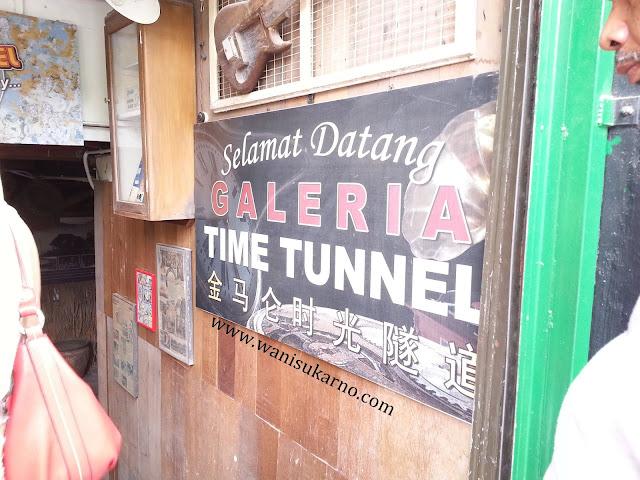 pengalaman ke muzium time tunnel di cameron highland