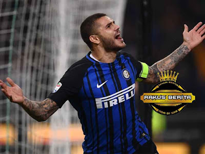 Mauro Icardi Cetak Hattrick Lawan AC Milan