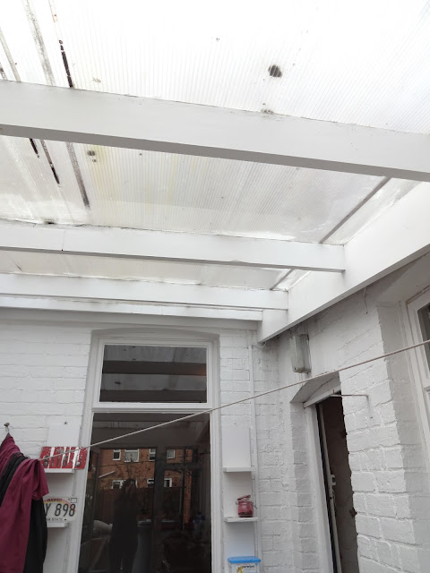 beams in conservatory