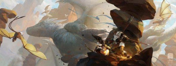 Kan Liu 666kart artstation deviantart arte ilustrações fantasia games