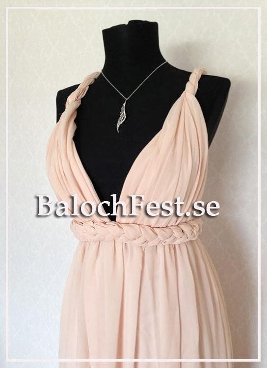 3c526370414c Populär Balklänning med öppen rygg och flätade band - BalochFest.se