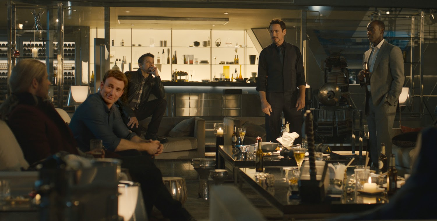 The Avengers Age of Ultron cast Marvel