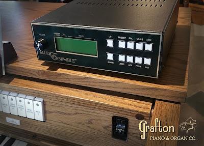 Allen MIDI Ensemble connected to used Allen C6 church organ