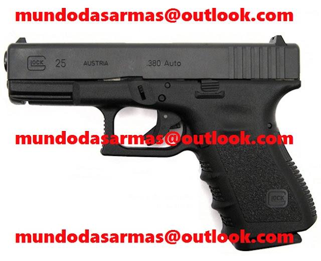 Pistola Glock G-25