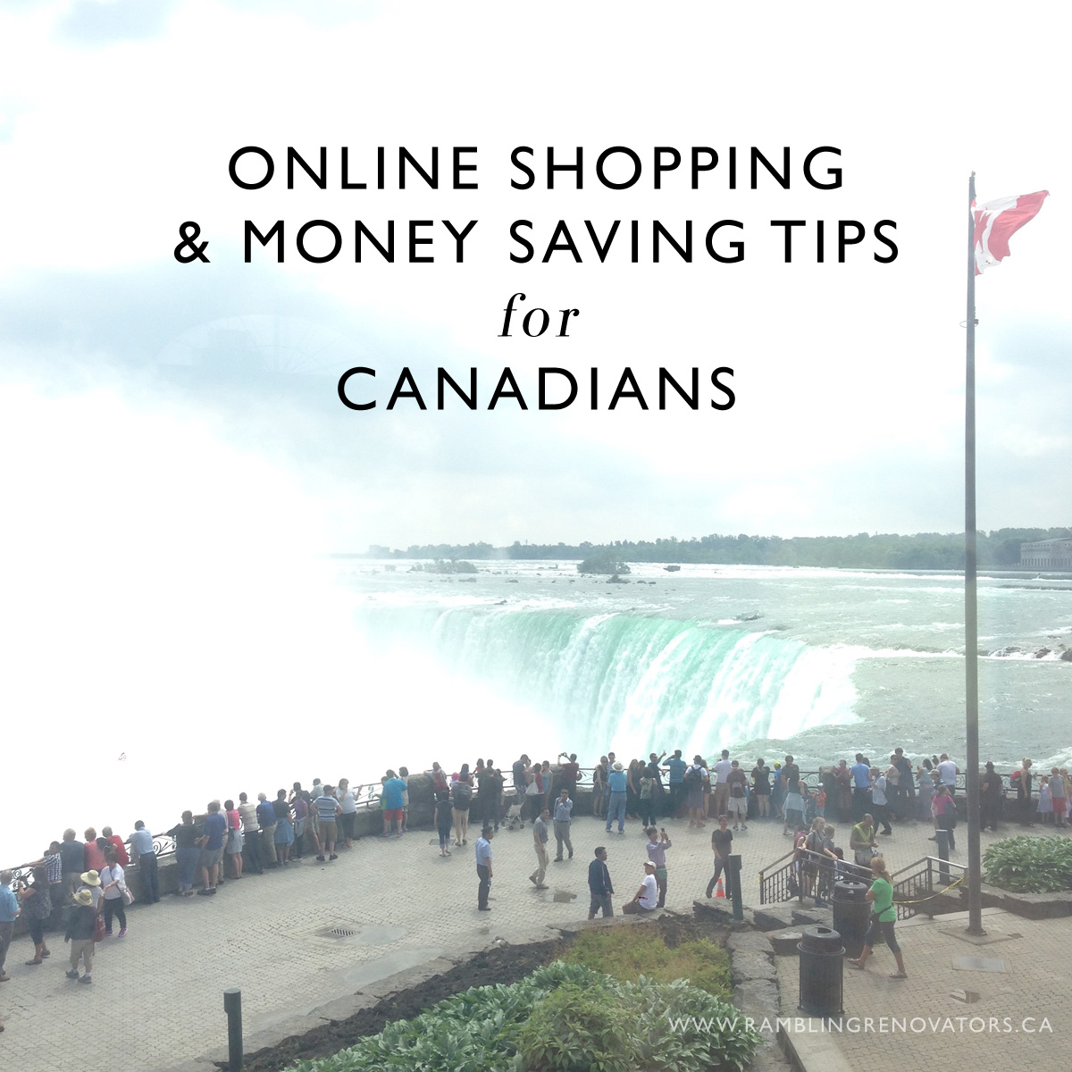 online shopping and money saving tips for canadians | ramblingrenovators.ca