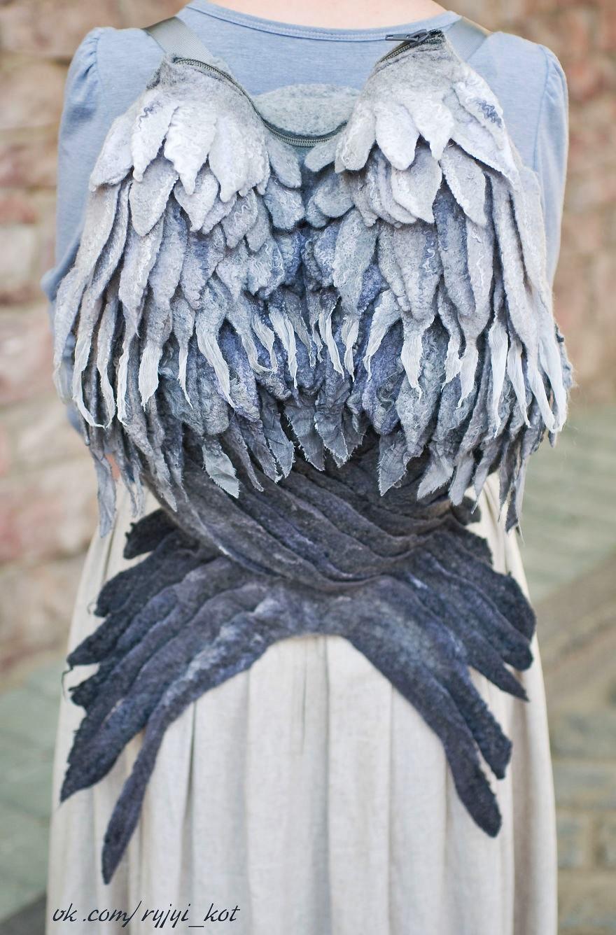 plecak ze skrzydel