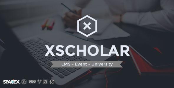 Free Download XScholar LMS,Course,Event,University Wordpress Theme