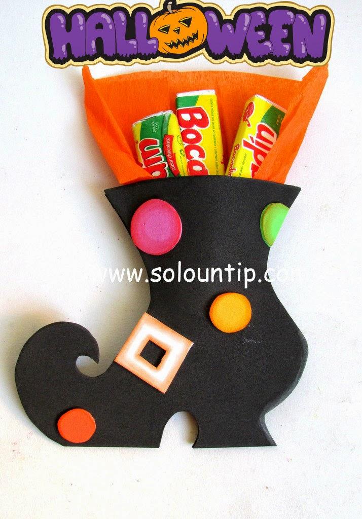 Muchos souvenirs para hacer dulceros en halloween - Fiesta de halloween infantil ...